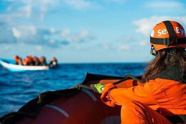 Offenburgerin hilft auf dem vor Malta ausharrenden Sea-Eye-Schiff