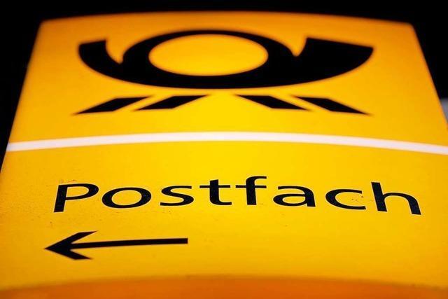 Schalter in der Postagentur: Diskretion – das war einmal