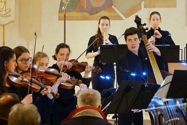 Wie das Landesjugendbarockorchester nach Grenzach kommt