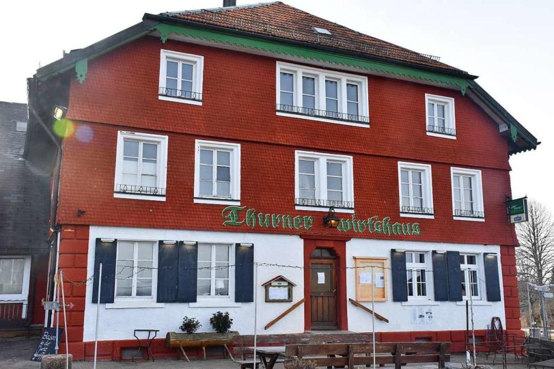 Das Thurner-Wirtshaus schließt vorerst seine Pforten.   | Foto: Thomas Biniossek
