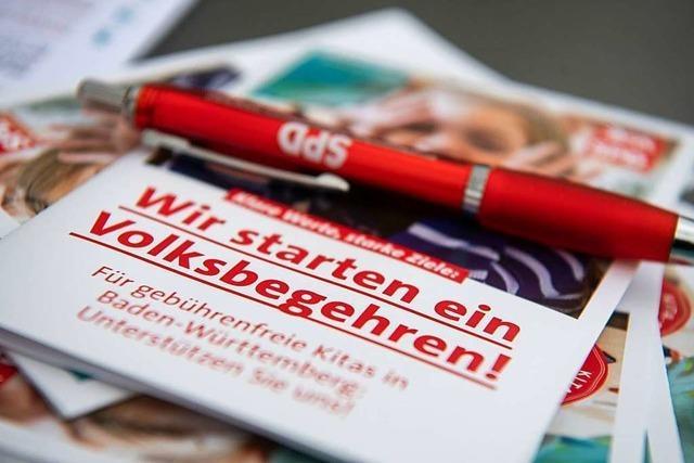 Südwest-SPD startet Volksbegehren für kostenlose Kitas