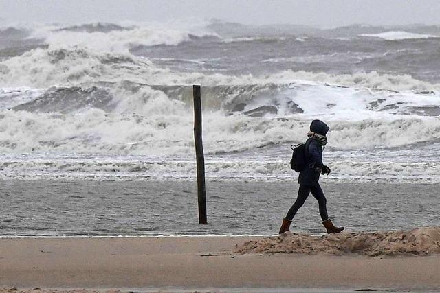 Sturmflut, Schneefall, Böen: Der Januar bleibt ungemütlich