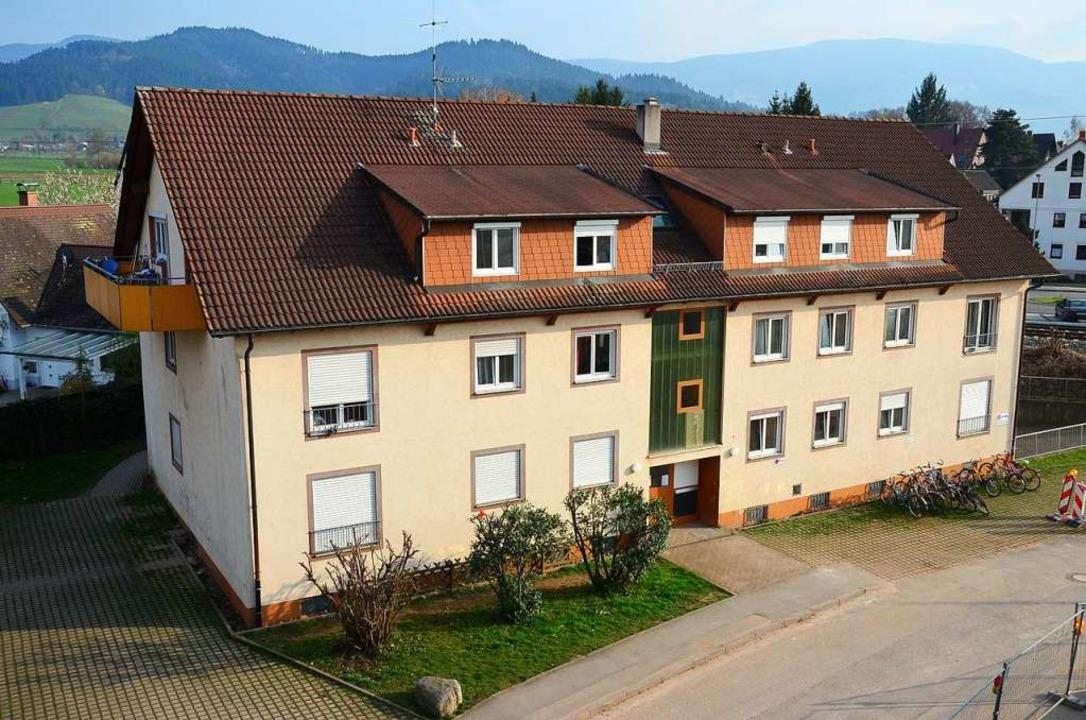 Das Wohnheim für Flüchtlinge am Keltenbuck 1 in Kirchzarten.  | Foto: Markus Donner