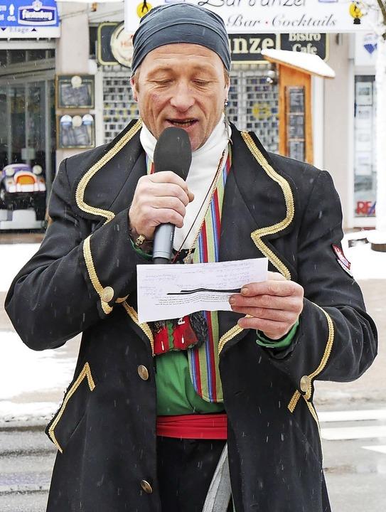 Der Pirat Klaus Kreuz ist Kapitän der Zunft der Seeräuber.  | Foto: Eva Korinth