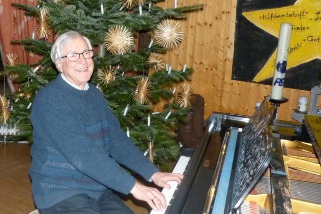 Gerhard Schächtele war über 30 Jahre Organist und Kirchenchorleiter in Breisach