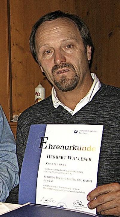 Herbert Walleser  | Foto: Ulrike Spiegelhalter