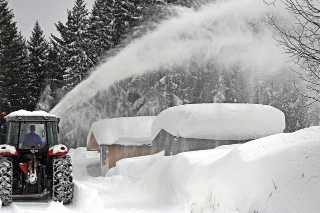 Die Alpen erwarten einen weiteren Meter Neuschnee