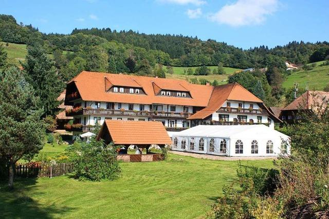 Stabwechsel im Steinener Gasthaus