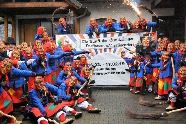 Gundelfinger Dorfhexen feiern ihr 25-jähriges Bestehen