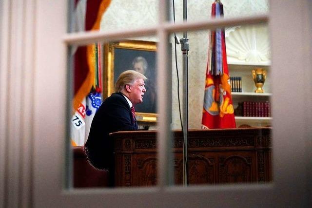 Trumps Propaganda-Rede war weitgehend frei von Fakten