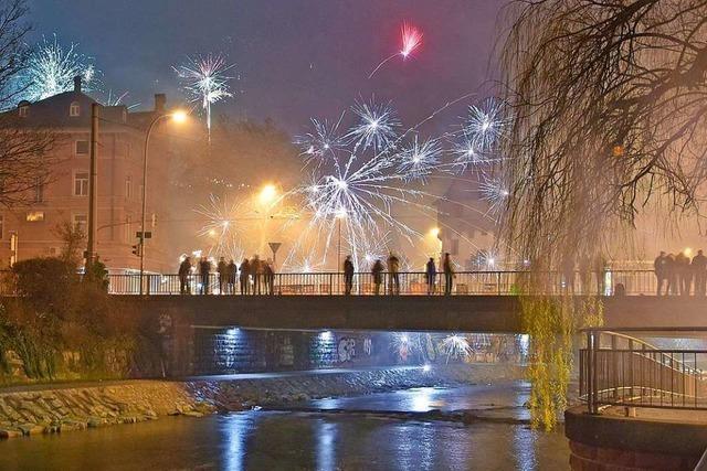 Das Dezember-Wetter in Freiburg hatte schlechte Laune