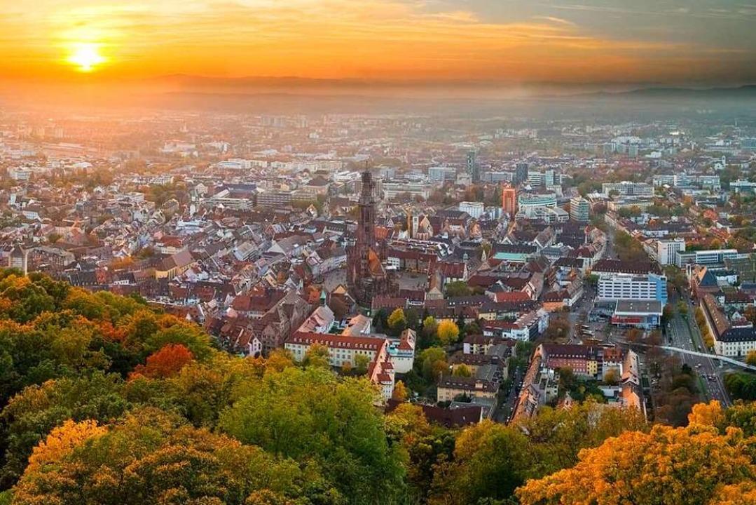 Freiburg zählt zu Deutschlands Schwarm...er Stadt und andere schwärmen dorthin.  | Foto: Eyetronic (Adobe Stock)