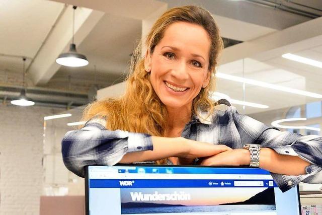 Tamina Kallerts Arbeitsplatz ist die Welt
