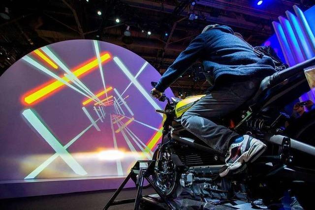 Harley-Davidson zeigt in Las Vegas sein erstes Elektromotorrad