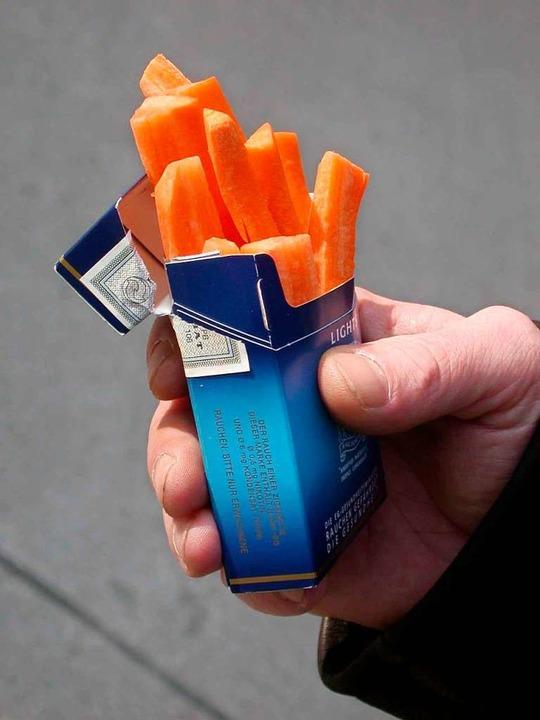 Es gibt viele Strategien, um Nichtraucher zu werden.   | Foto: BZgA