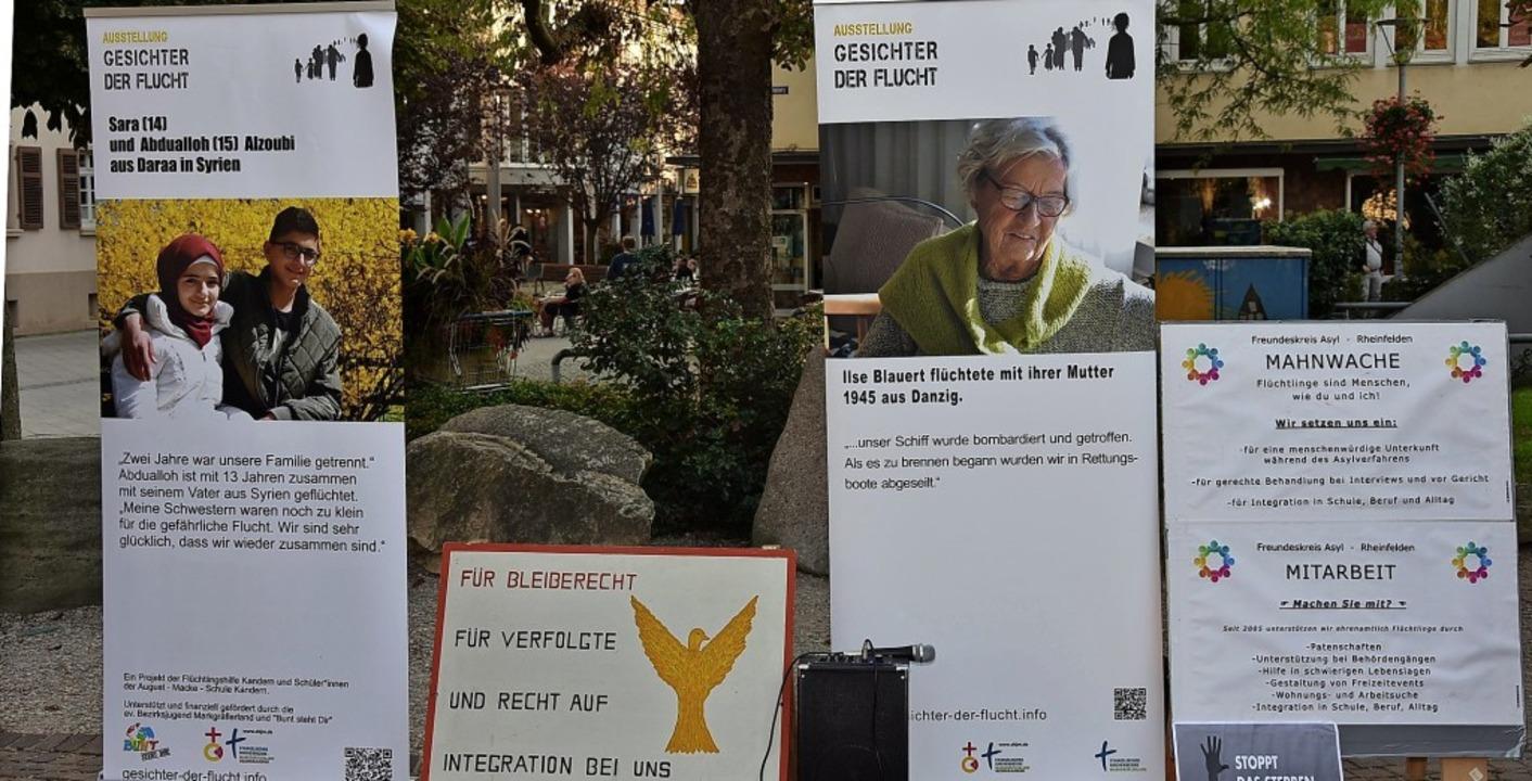 Freundeskreis Asyl wünscht sich ein st...hes Signal für Flüchtlinge in Seenot.     Foto: Archivfoto: Heinz Vollmar