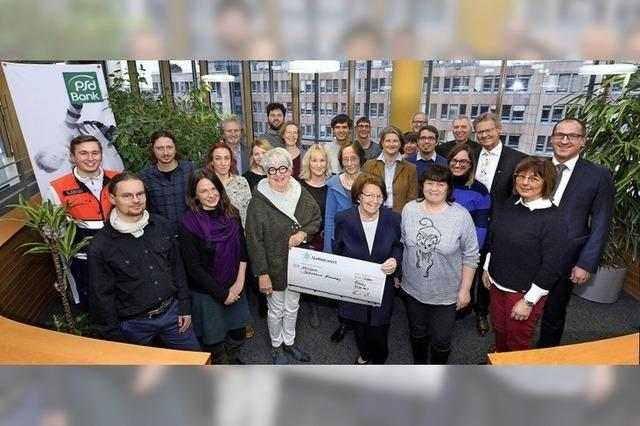 Mehr als 73 000 Euro Spenden von der PSD-Bank
