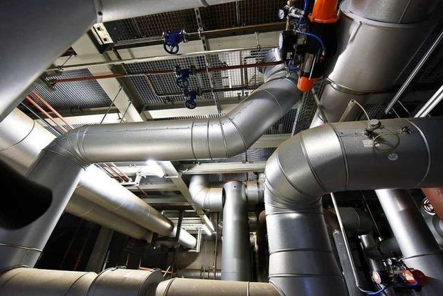 Die Uniklinik Freiburg hat ihr Heizkraftwerk ausgebaut