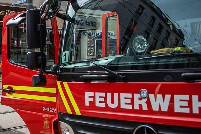 Kaminbrand fordert Einsatz der Feuerwehr