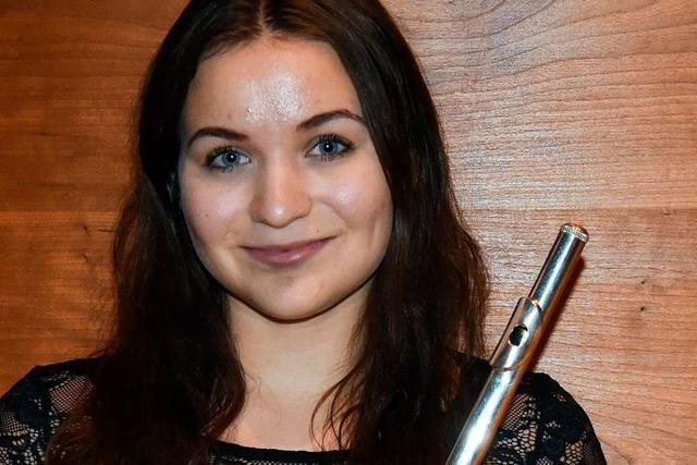 Auszeichnung für Querflötistin Stefanie Appelgrün