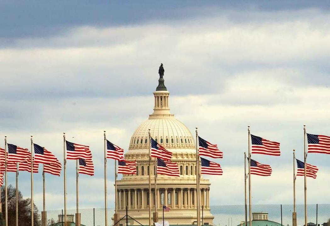Regierungsstillstand in den USA.    Foto: dpa