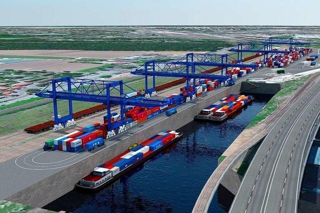 Kanton Basel-Stadt forciert neues Hafenbecken