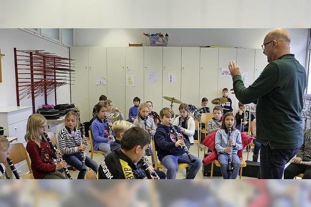 Premiere fürs Spielen im Orchester