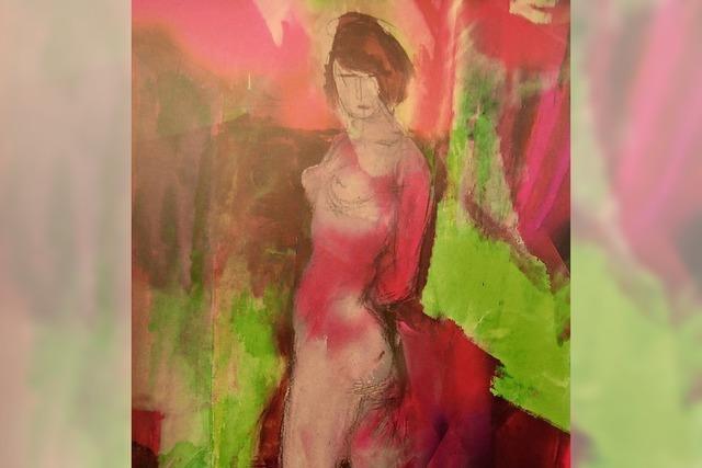 Finissage der Ausstellung von Luis Lenz am Samstag, 12. Januar im Alten Schloss in Wehr.