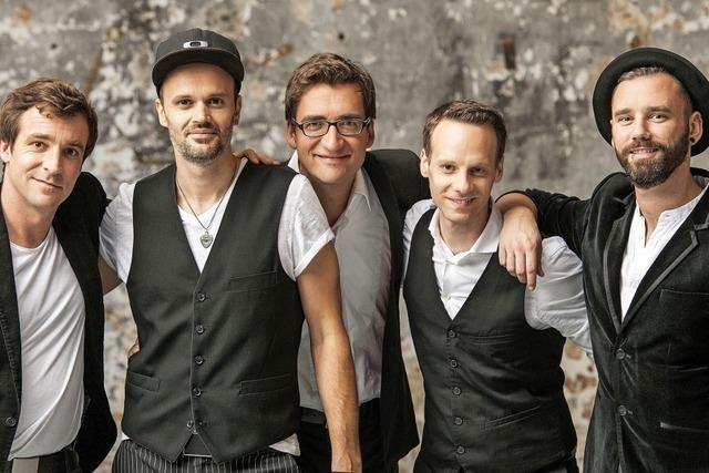 Stimmen pur: die fünf Vokalisten des A-cappella-Chors Vocaldente