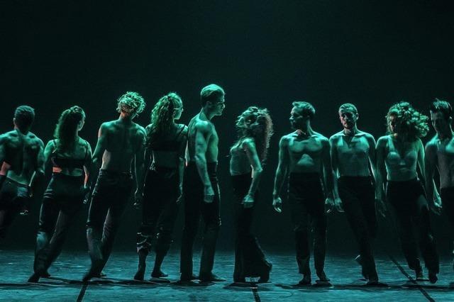 Les Ballets Jazz de Montréal mit drei modernen Choreografien im Lörracher Burghof