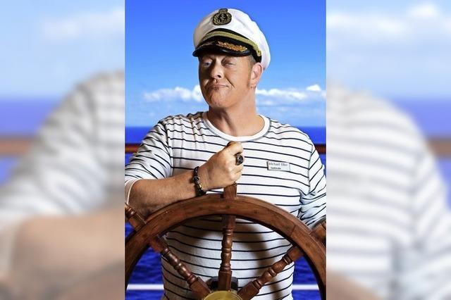 Im Koffer Hugsweier: Captain Comedy Michael Eller packt aus