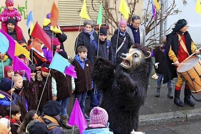 Bärentag mit Umzug und Bärenmähli in Basel