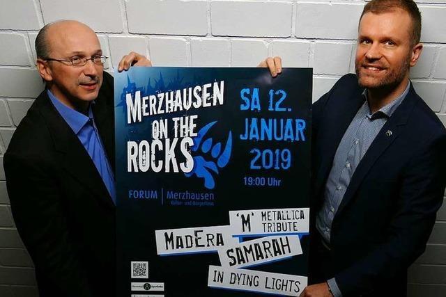Am Samstag treten Rock- und Metalbands in Merzhausen auf