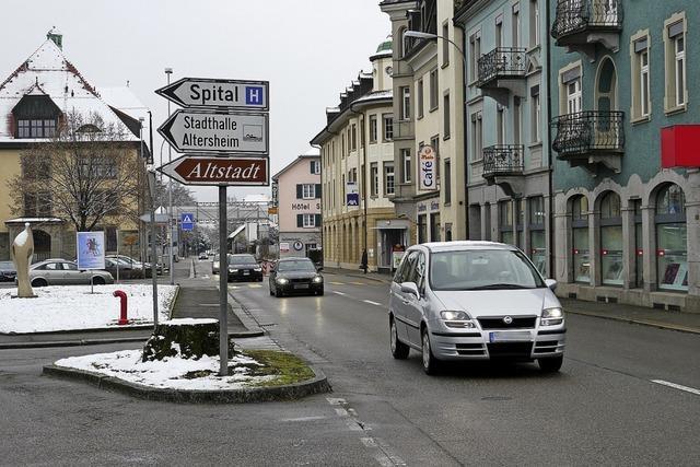Verkehrsengpass bis Oktober 2020 in Laufenburg in der Schweiz