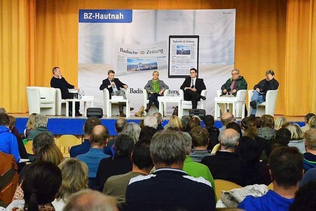 BZ-Kandidatentalk zur Bürgermeisterwahl in Feldberg