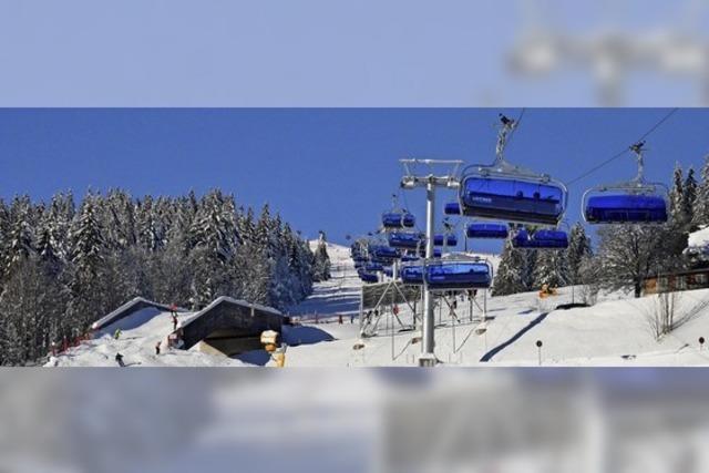 Skilifte, Loipen und Wege sind bereit