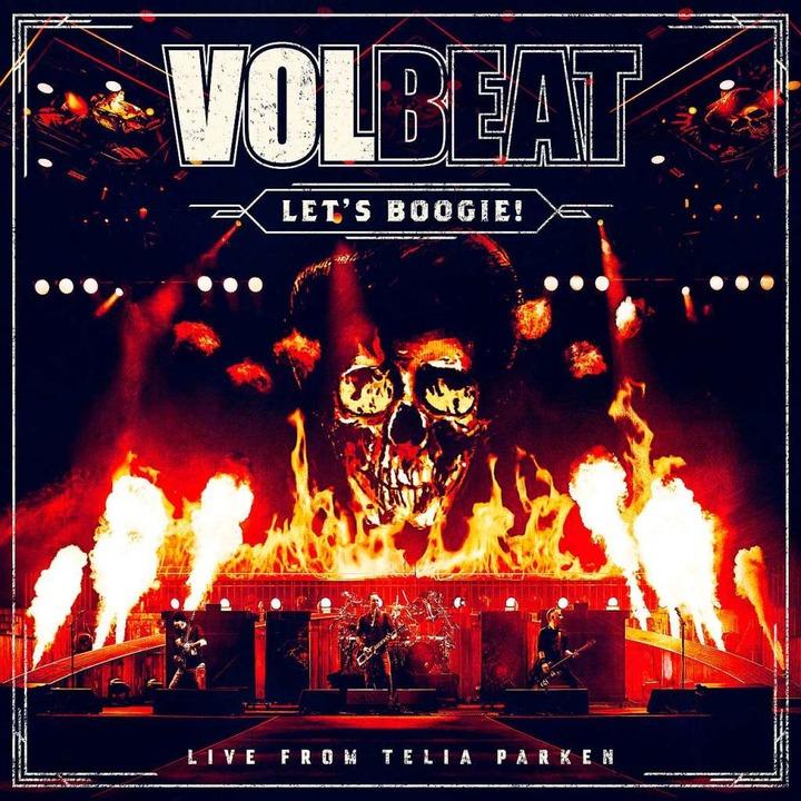 Volbeat: Let's Boogie! Live from Telia Parken (Vertigo/Universal).    Foto: Vertigo/Universal