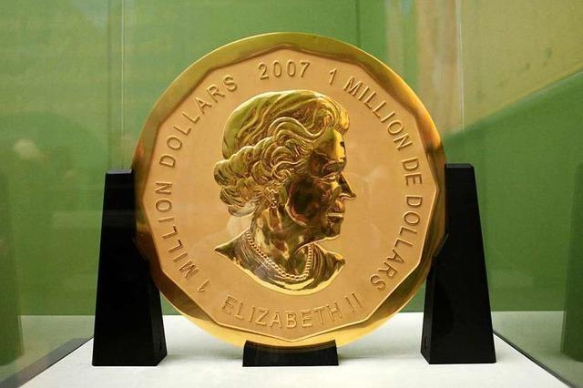 Die Megamünze bleibt verschollen