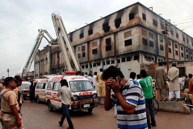 Kein Schmerzensgeld für Opfer des Textilfabrik-Brands