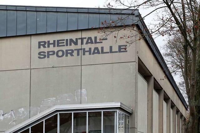 Die Ringergemeinschaft Lahr ringt um die Rheintalhalle