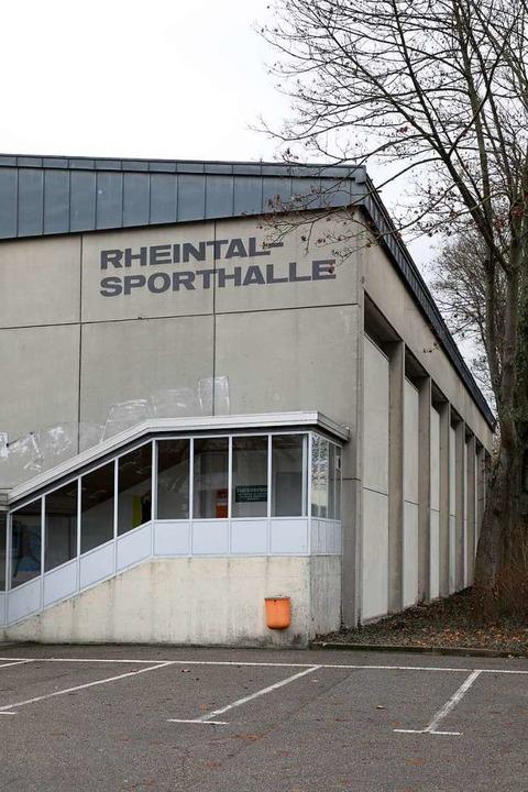 Die Rheintalhalle soll abgerissen werd...meinschaft würde sie aber gern nutzen.  | Foto: Christoph Breithaupt