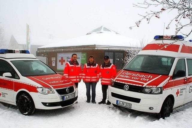 Wenn das Rote Kreuz zwei Fahrzeuge geschenkt bekommt
