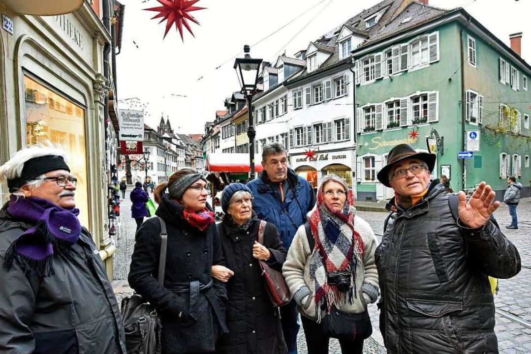 Vorführeffekt: Bei einem Stadtspazierg...;-Idee in Freiburg vorstellen könnte.     Foto: Michael Bamberger