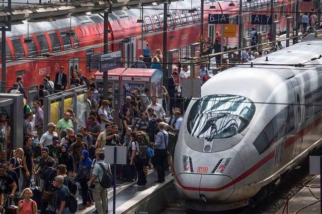 Jeder vierte Fernzug der Deutschen Bahn kommt zu spät