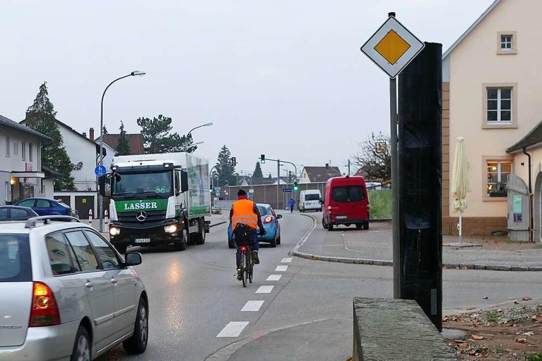 Anwohner erhoffen sich von dem Blitzge...ngen eine Verlangsamung des Verkehrs.     Foto: Victoria Langelott