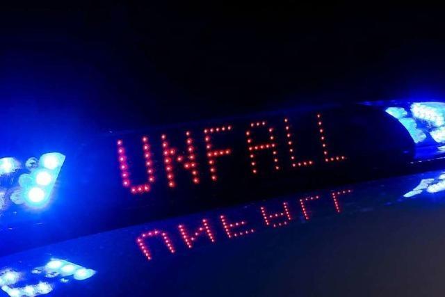 Mofafahrer bei Zusammenstoß schwer verletzt