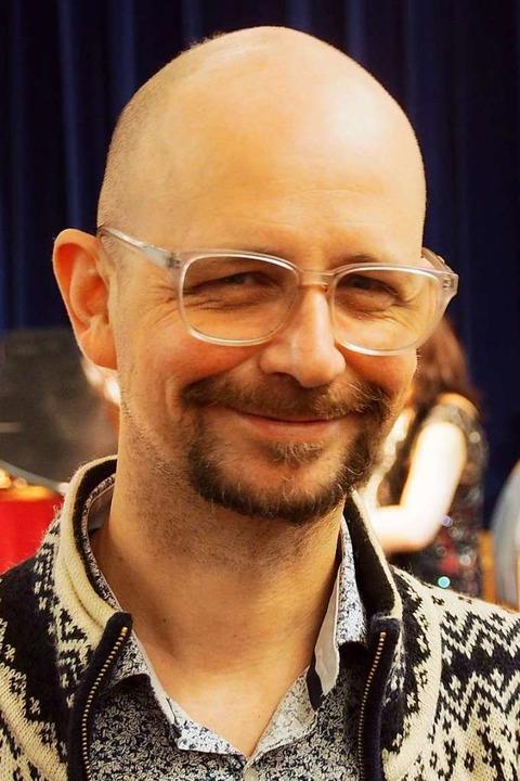 Aus London zurück in Kirchzarten: Festivalleiter Tobias Hug  | Foto: Markus Donner