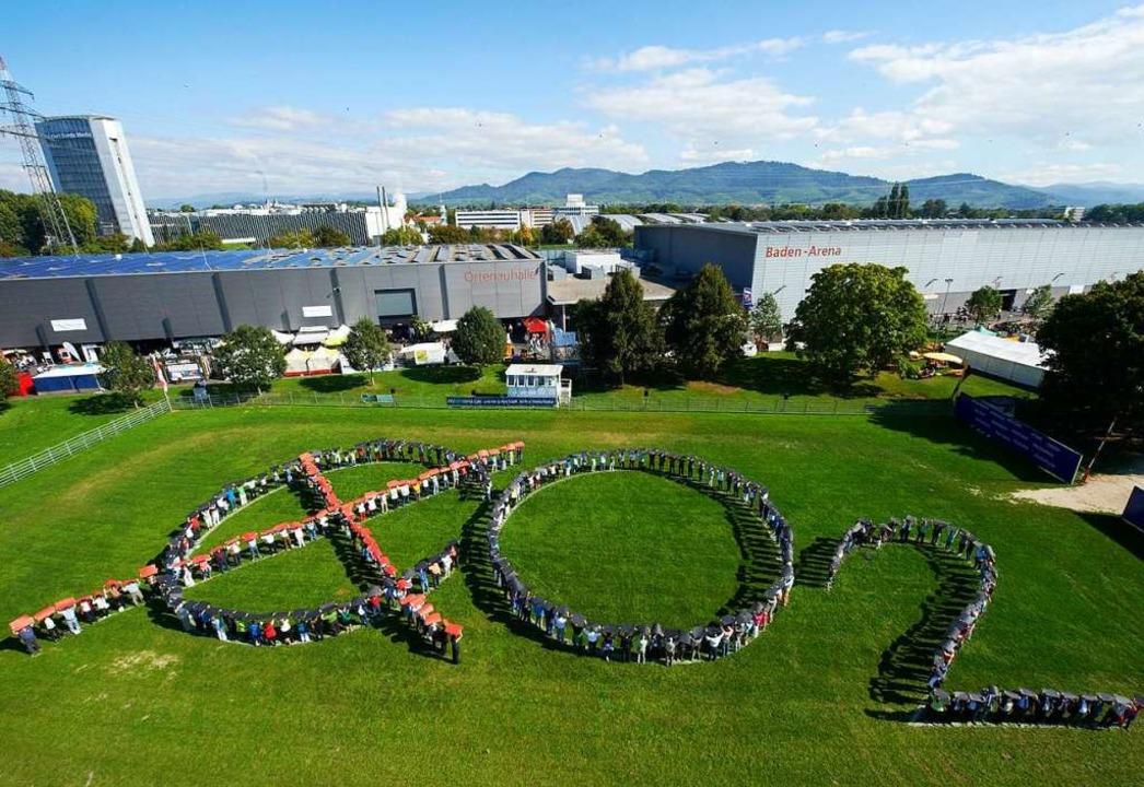 Offenburger Schüler wollen es nicht be...gasen und lokal einen Ausbau des ÖPNV.  | Foto:           messe