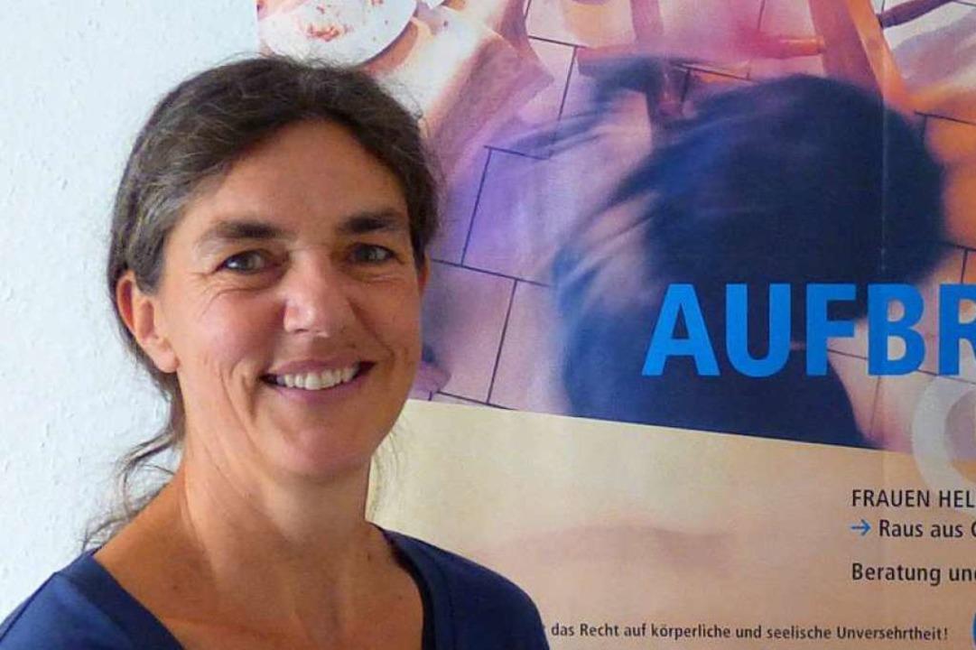 Antje Lauber wünscht sich, dass Frauen...ffentlichen Mitteln finanziert werden.  | Foto: Frauenhaus