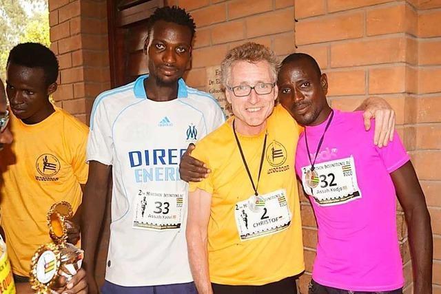 Dieser Freiburger veranstaltet Marathonläufe für einen guten Zweck